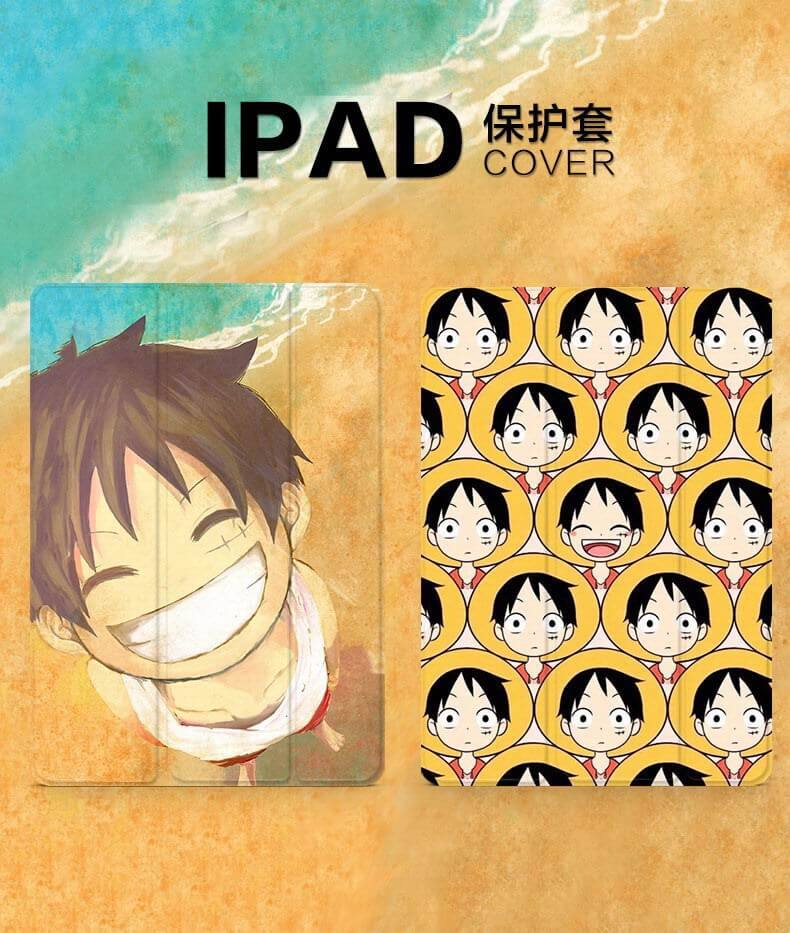 Apple iPad 1, iPad 2, iPad 3, iPad 4, iPad Mini 1, iPad Mini 2, iPad Mini 3, iPad Mini 4 , iPad Air 1, iPad Air 2, iPad Pro 9.7 protective cover with cartoon animation, female and the tide pattern