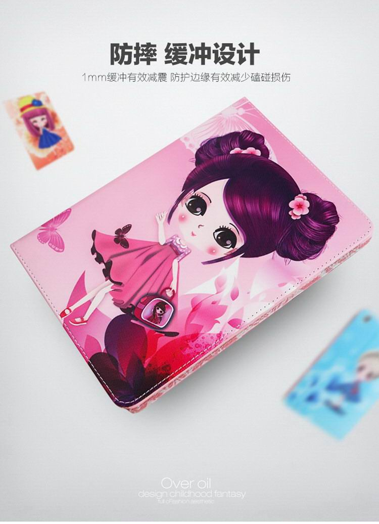 Apple Tablet iPad Mini 1, iPad Mini 2, iPad Mini 3, iPad Mini 4 protective ultra thin case with nice girls