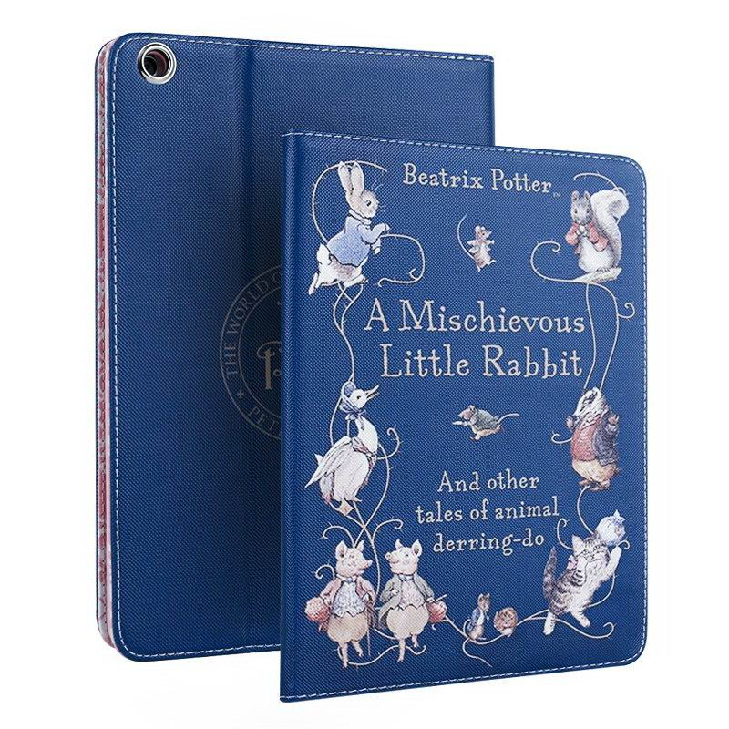 Apple iPad Mini 1, iPad Mini 2, iPad Mini 3, iPad Mini 4 case with Peter rabbit cartoon pattern