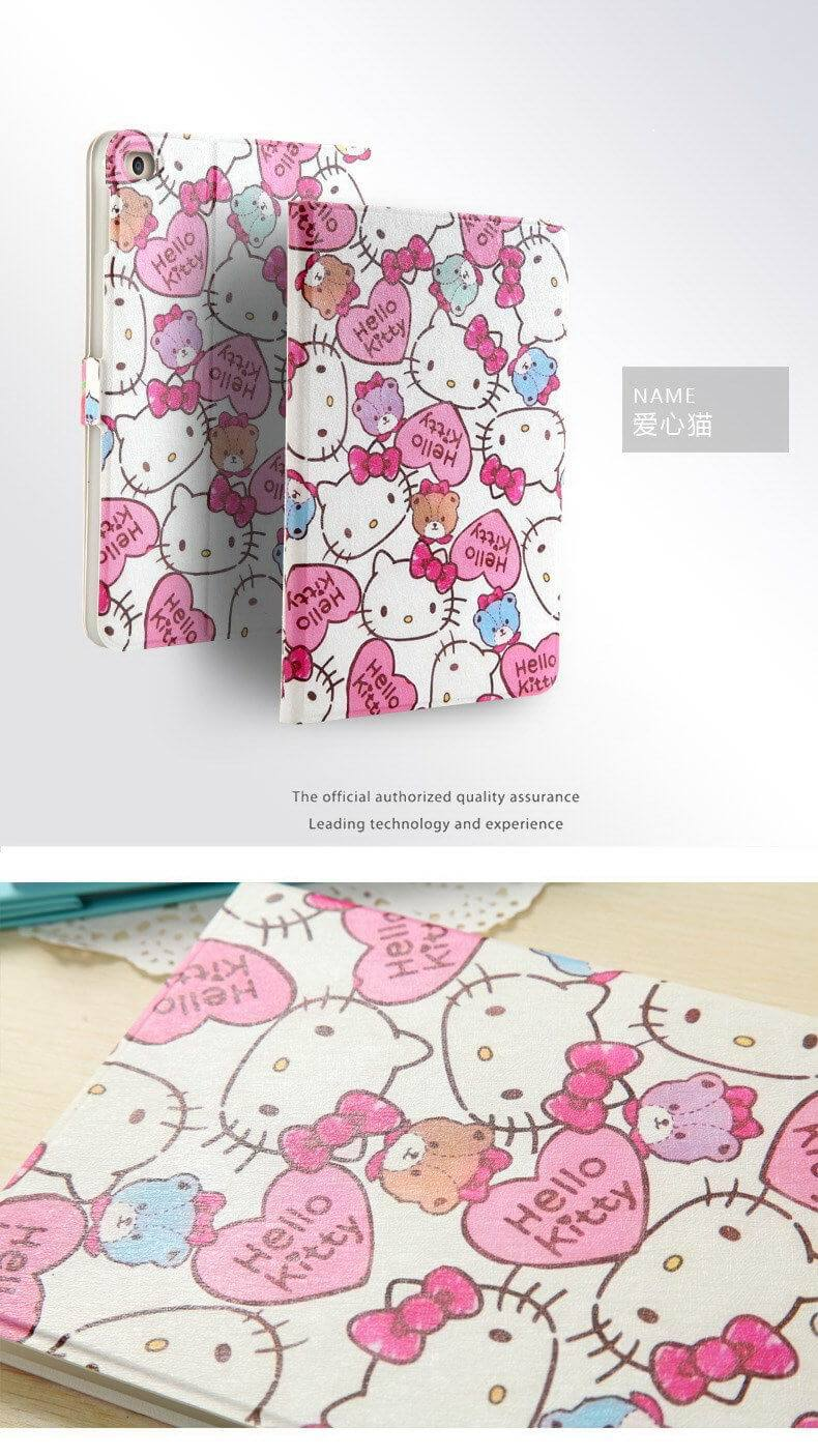 Apple iPad Mini 4 Silicone protective soft cover with Cartoon pattern
