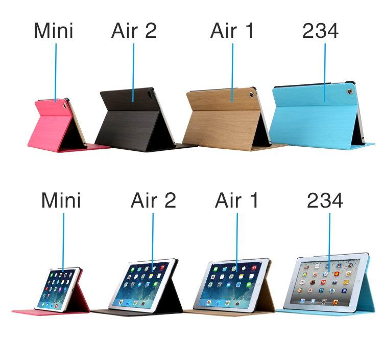 Beeanr iPad case with pattern for Apple iPad 2, iPad 3, iPad 4, iPad Mini 1, iPad Mini 2, iPad Mini 3, iPad Mini 4, iPad Air 1, iPad Air 2