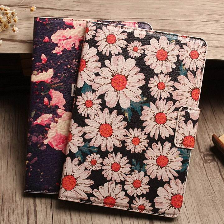 Flowers ultra-thin Apple iPad Mini 4 Cover