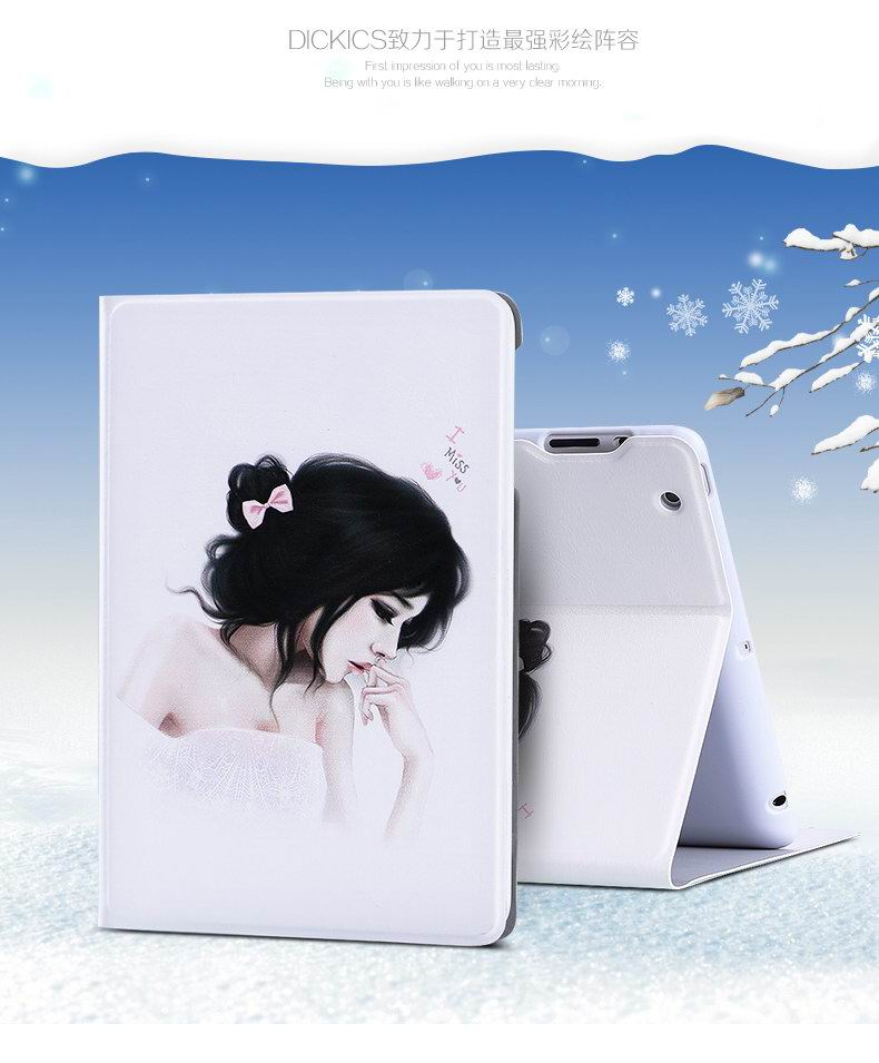 iPad cover with cartoon patterns for Apple iPad Mini 1, iPad Mini 2, iPad Mini 3