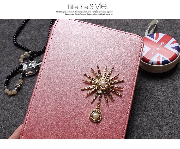 iPad fashion protective case with golden star Apple iPad 2, iPad 3, iPad 4, iPad Mini 1, iPad Mini 2, iPad Mini 3, iPad Air 1, iPad Air 2