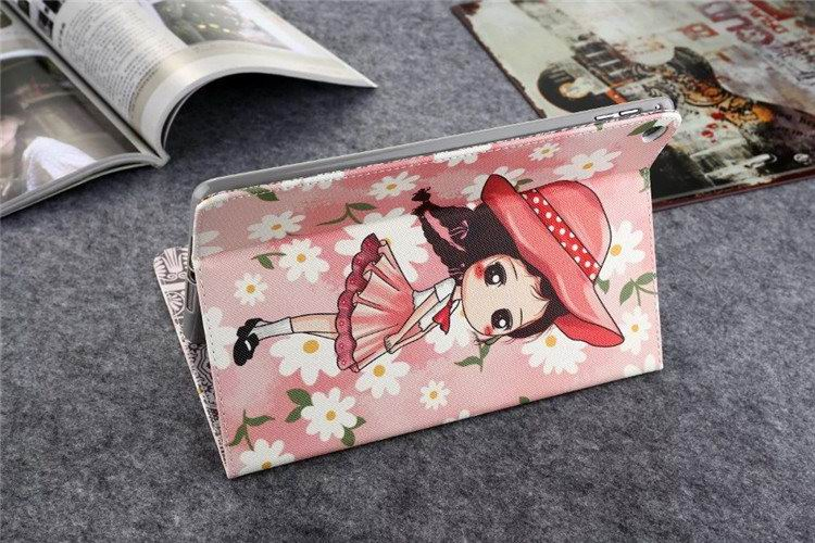 iPad silicone case with cartoon girls pattern for Apple iPad 2, iPad 3, iPad 4, iPad Mini 1, iPad Mini 2, iPad Mini 3, iPad Mini 4, iPad Air 1, iPad Air 2