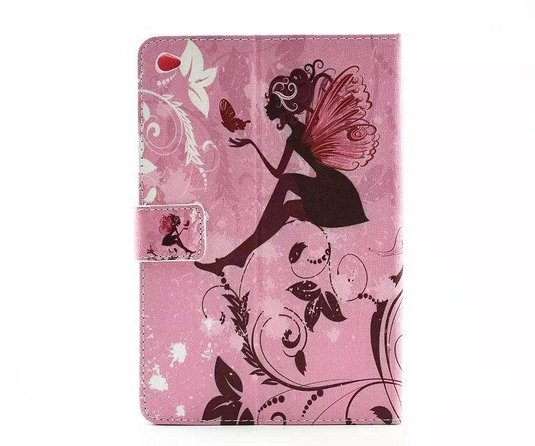 iPad Silicone n leather pink case with butterfly n love n flower pattern for Apple iPad Mini 1, iPad Mini 2, iPad Mini 3, iPad Mini 4, iPad 2, iPad 3, iPad 4, iPad Air 1, iPad Air 2