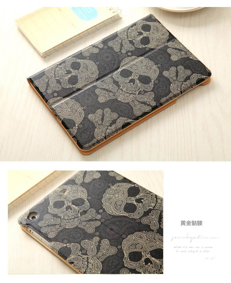 iPad ultra-thin case with Cartoon print for Apple iPad Mini 1, iPad Mini 2, iPad Mini 3