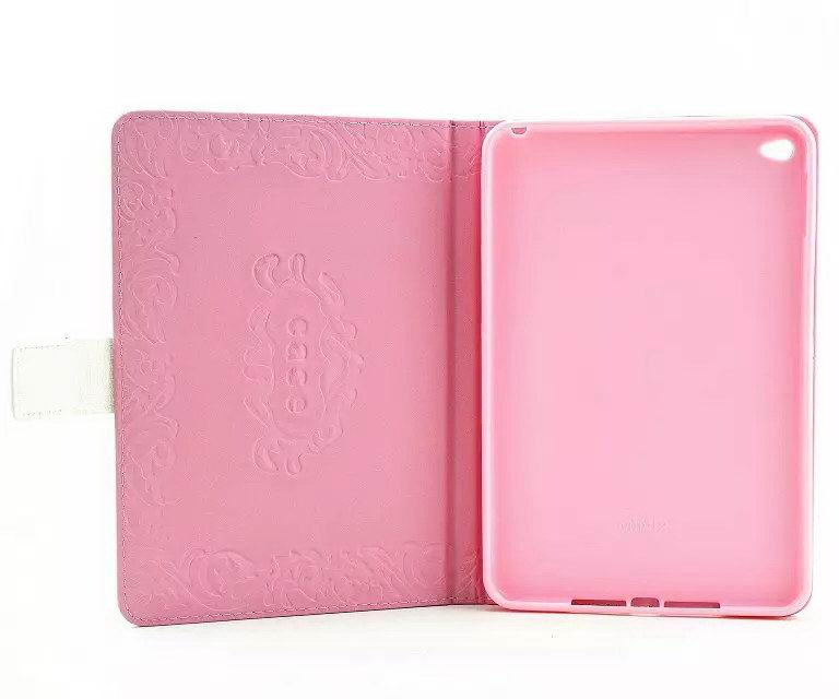 Tablet Leather n Silicone case with butterfly & flower pattern Apple iPad 2, iPad 3, iPad 4, iPad Air 1, iPad Air 2, iPad Mini 1, iPad Mini 2, iPad Mini 3, iPad Mini 4