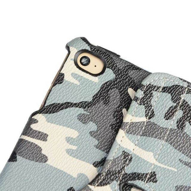 Apple iPad case with Camouflage print and rotating stand for iPad Air 1, iPad Air 2, iPad 2, iPad 3, iPad 4, iPad Mini 1, iPad Mini 2, iPad Mini 3, iPad Mini 4