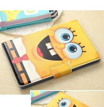Apple iPad Flip cartoon case with a large selection of images for iPad Mini 4