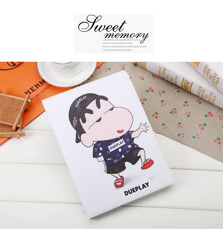 Apple iPad Protective Cartoon Case with a boy for iPad 2, iPad 3, iPad 4, iPad Air 1, iPad Air 2, iPad Mini 1, iPad Mini 2, iPad Mini 3, iPad Mini 4