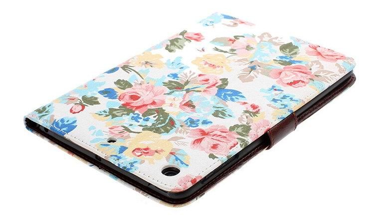 Apple iPad Protective case with flowers for Apple iPad Mini 1, iPad Mini 2, iPad Mini 3