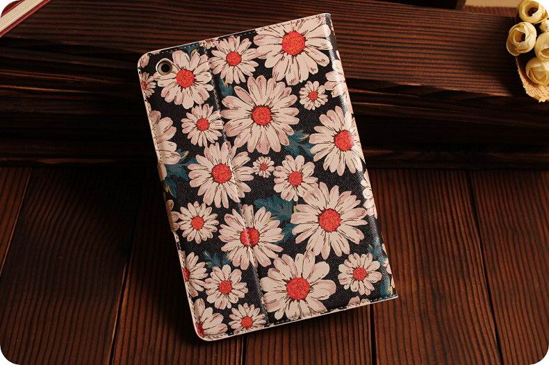 Apple iPad Protective case with flowers for iPad Mini 4