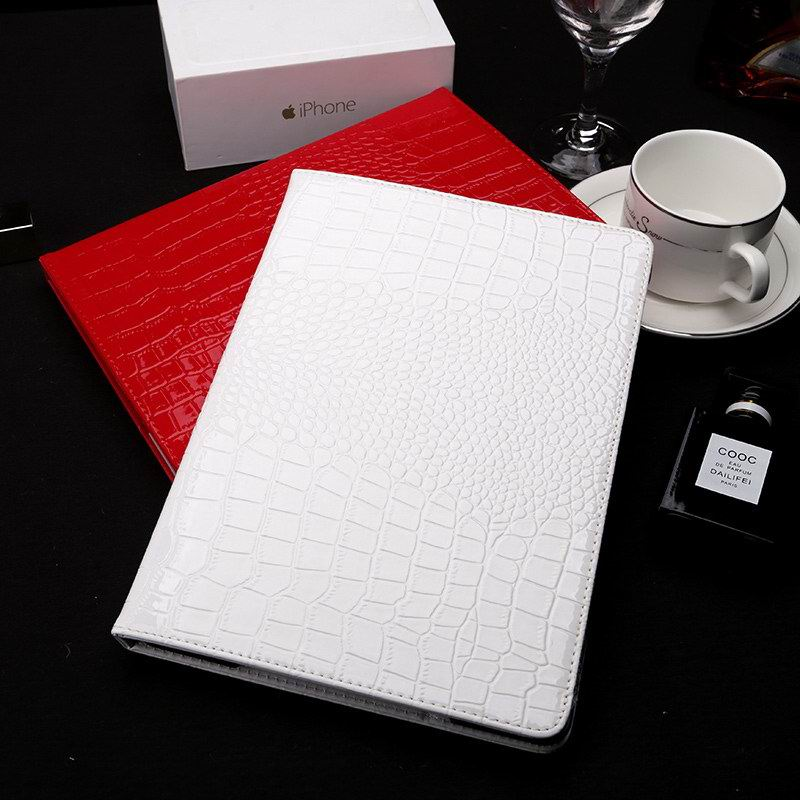 business case with crocodile pattern with stand for apple ipad 2 ipad 3 ipad 4 ipad mini 1 ipad mini 2 ipad mini 3 ipad mini 4 ipad air 1 ipad air 2 0