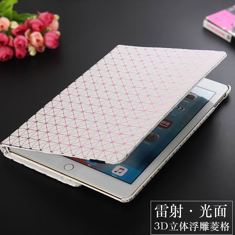 Case with geometrical illustration and multicolor pattern with stand for Apple iPad Pro 9.7 inch