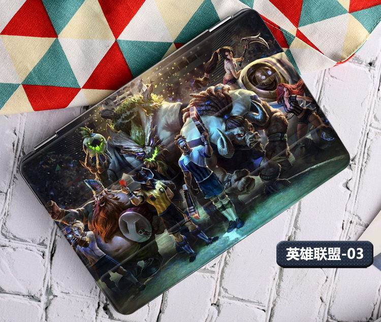 Case with League of Legends LOL game heroes illustration Apple iPad 2, iPad 3, iPad 4, iPad Mini 1, iPad Mini 2, iPad Mini 3, iPad Mini 4, iPad Air 1, iPad Air 2, iPad Pro 9.7 inch