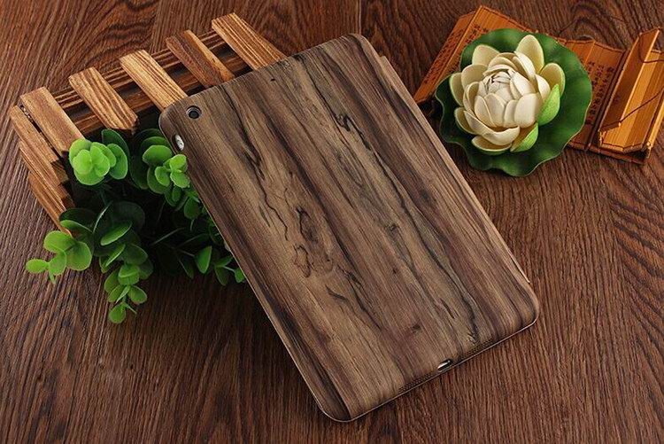 Case with multicolor wooden pattern for Apple iPad Air 1, iPad Air 2