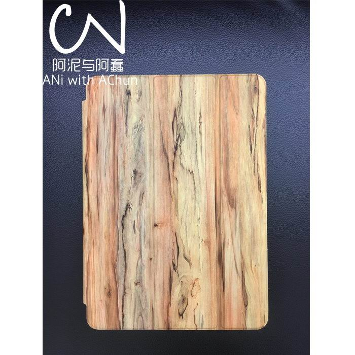 case with multicolor wooden pattern for apple ipad air 1 ipad air 2 0