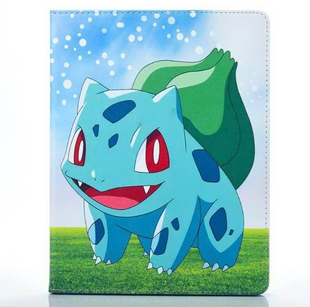 Case with pokemon go heroes illustration for Apple iPad Mini 1, iPad Mini 2, iPad Mini 3, iPad Mini 4