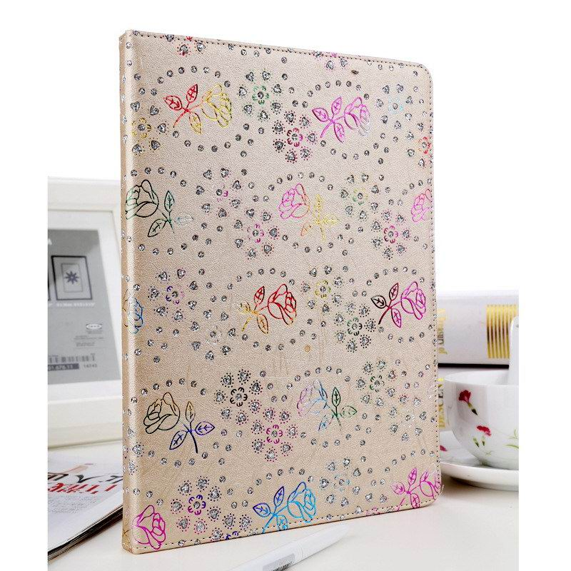case with rhinestone flower pattern for apple ipad 2 ipad 3 ipad 4 apple ipad air 1 ipad air 2 apple ipad mini 1 ipad mini 2 ipad mini 3 0