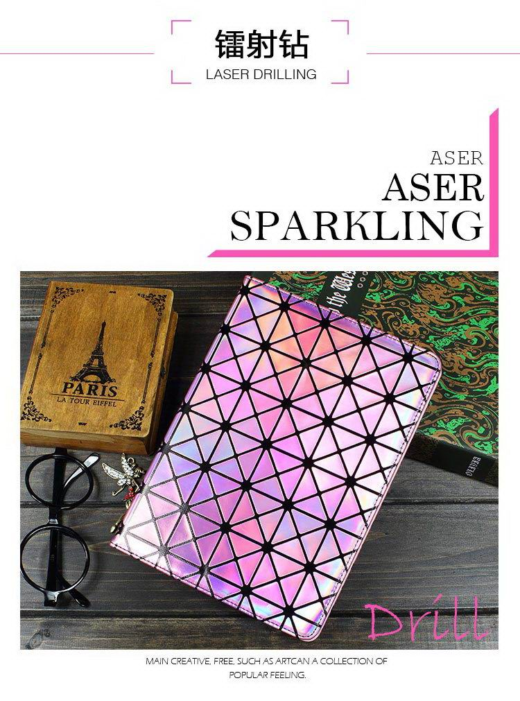 Case with rhinestone pattern and stand Apple iPad 2, iPad 3, iPad 4, iPad Mini 1, iPad Mini 2, iPad Mini 3, iPad Mini 4, iPad Air 1, iPad Air 2