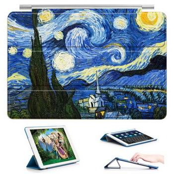 Case with Van Gogh Oil Painting for Apple iPad Air 1, iPad Air 2, iPad Mini 3, iPad Mini 4, Apple iPad Pro 9.7 inch