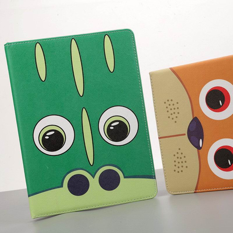 iPad Protective Cartoon case with animal eyes for Apple iPad Air 1, iPad Air 2, Apple iPad 2, iPad 3, iPad 4