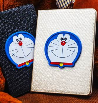 iPad protective cartoon case with Doraemon for Apple iPad Mini 1, iPad Mini 2, iPad Mini 3, iPad Mini 4, Apple iPad 2, iPad 3, iPad 4, Apple iPad Air 1, iPad Air 2, Apple iPad Pro 9.7 inch