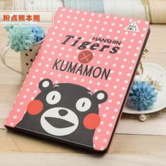 iPad protective Cartoon case with Kumamon bear for Apple iPad Mini 1, iPad Mini 2, iPad Mini 3, iPad Mini 4, Apple iPad 2, iPad 3, iPad 4, Apple iPad Air 1, iPad Air 2,