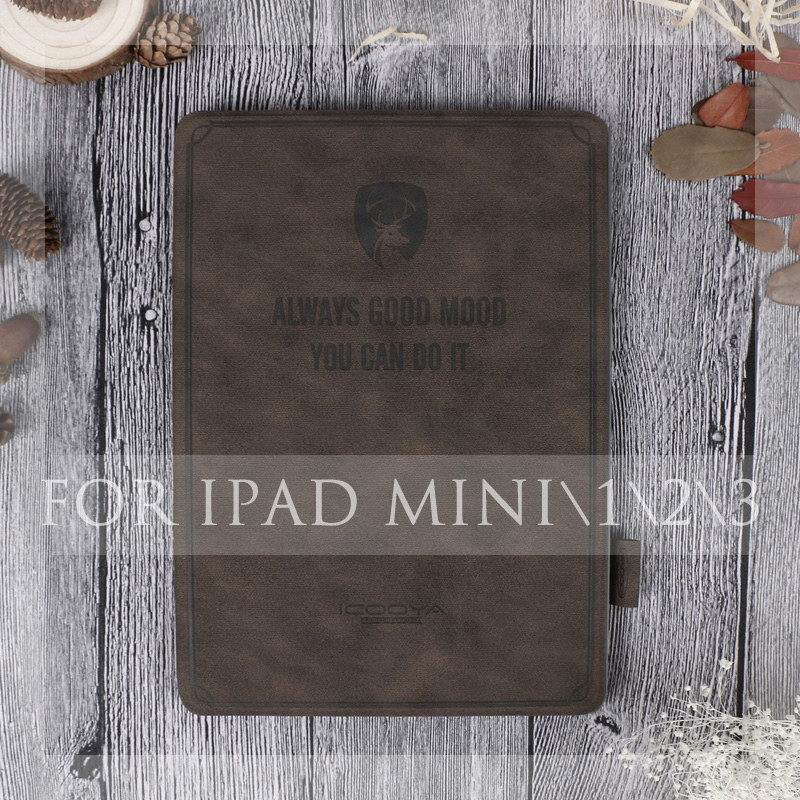 ipad protective case with an inscription always good mood for apple ipad mini 1 ipad mini 2 ipad mini 3 ipad mini 4 0