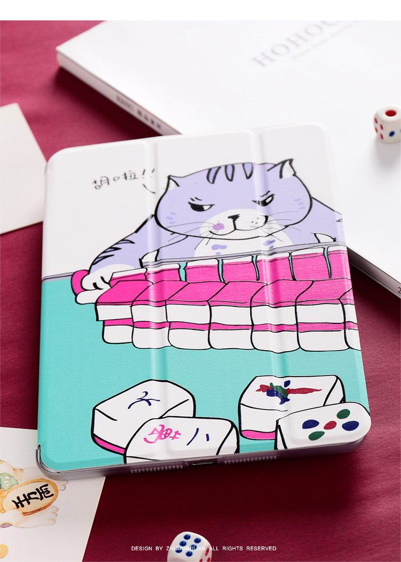 iPad Protective Case with animal cat for Apple iPad Mini 1, iPad Mini 2, iPad Mini 3, iPad Mini 4, Apple iPad 2, iPad 3, iPad 4, Apple iPad Air 1, iPad Air 2, Apple iPad Pro 9.7 inch