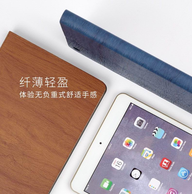 iPad Protective case with wood pattern for Apple iPad Mini 1, iPad Mini 2, iPad Mini 3, iPad Mini 4