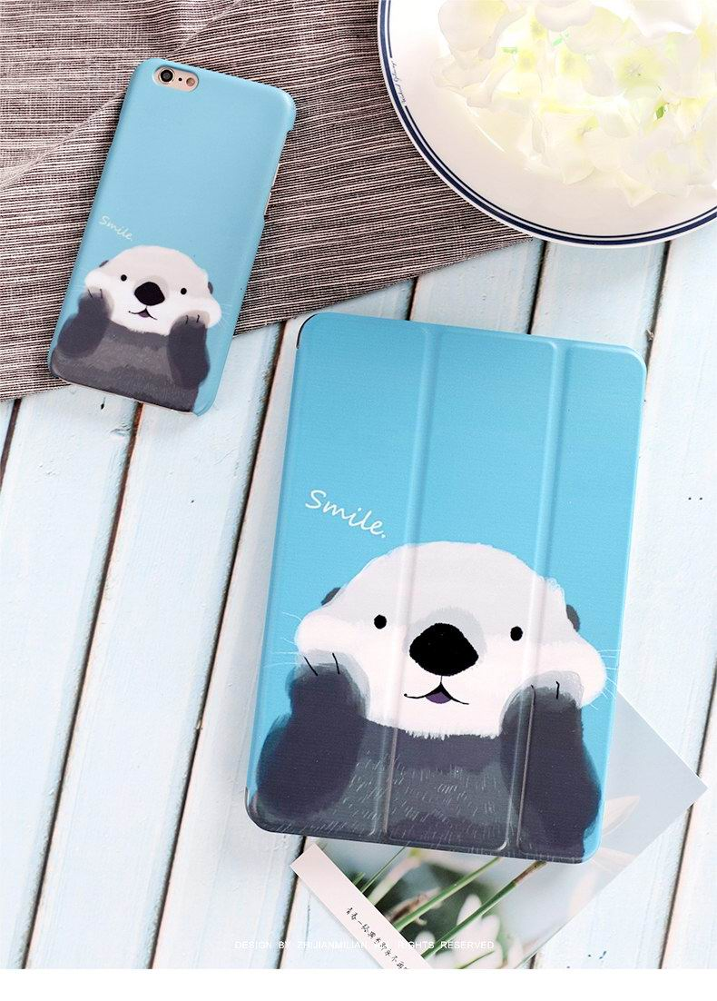 iPad Protective Cute Cartoon case with bears for Apple iPad Mini 1, iPad Mini 2, iPad Mini 3, iPad Mini 4, Apple iPad Pro 9.7 inch, Apple iPad 2, iPad 3, iPad 4, Apple iPad Air 1, iPad Air 2