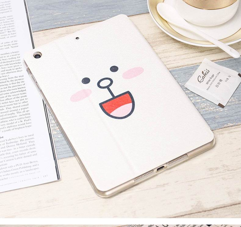 iPad Protective cute case with bears & duck for Apple iPad Mini 1, iPad Mini 2, iPad Mini 3, iPad Mini 4
