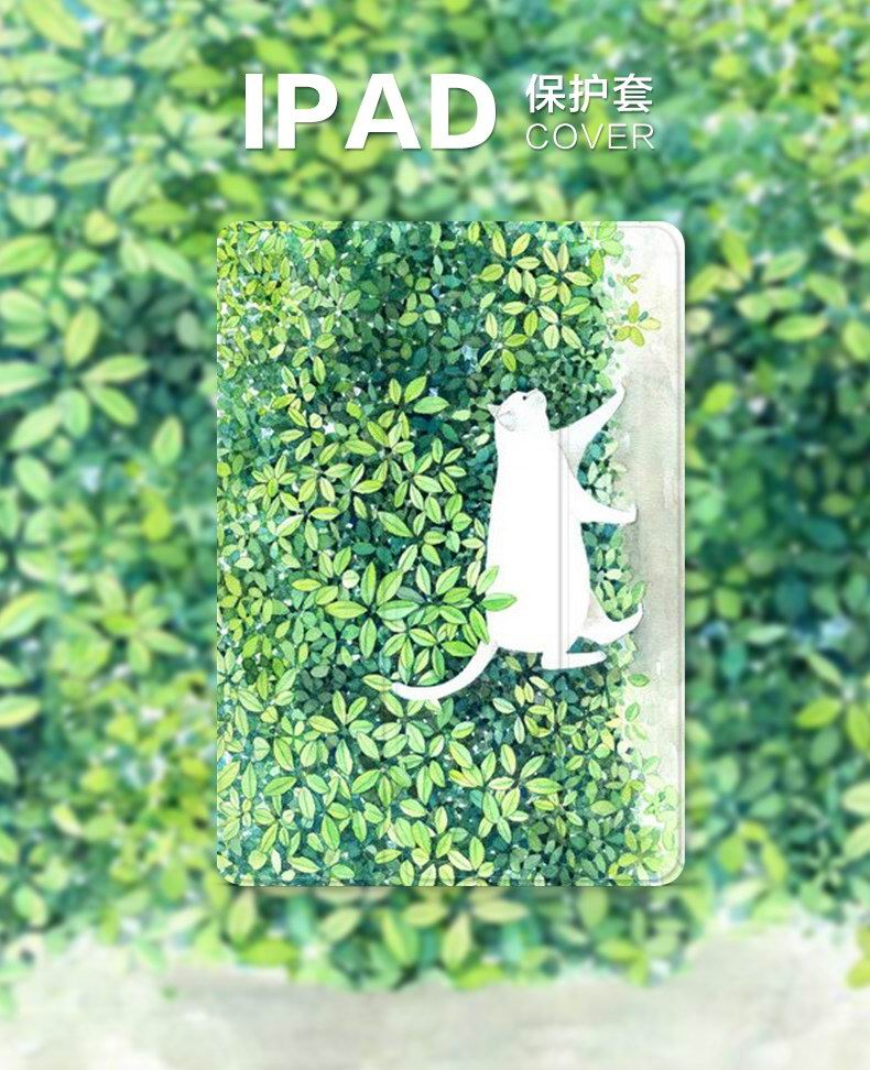iPad Protective female case with a cat animal for Apple iPad Mini 1, iPad Mini 2, iPad Mini 3, iPad Mini 4, Apple iPad 2, iPad 3, iPad 4, Apple iPad Air 1, iPad Air 2, Apple iPad Pro 9.7 inch