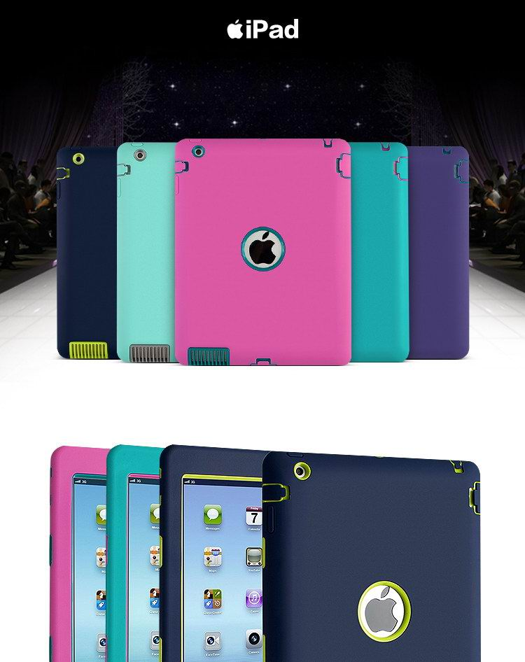 iPad Protective Silicone cover for Apple iPad Air 1, iPad Air 2, Apple iPad Mini 1, iPad Mini 2, iPad Mini 3, iPad Mini 4, Apple iPad 2, iPad 3, iPad 4