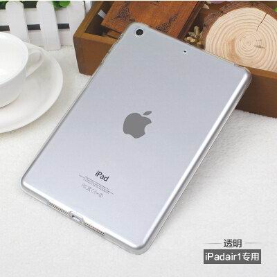 ipad silicone transparent cover for apple ipad air 1 ipad air 2 apple ipad mini 1 ipad mini 2 ipad mini 3 0