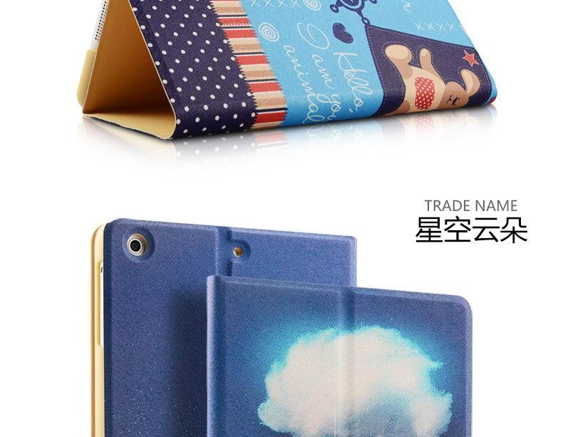 ZOYU case for children with cartoon illustrations for Apple iPad Mini 1, iPad Mini 2, iPad Mini 3, iPad Mini 4