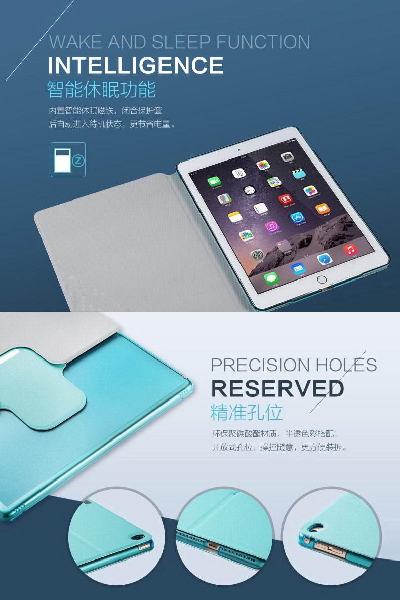 360 Degree Rotating сase with the image of the sea, dolphin and with rhinestones for Apple iPad Mini 1, iPad Mini 2, iPad Mini 3