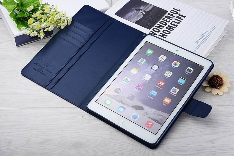 ALIVO case wallet with soft cover and pockets for card and money for iPad air 2, iPad 6