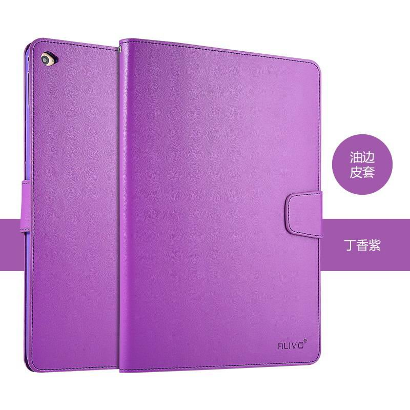 alivo case wallet with soft cover and pockets card and money ipad 6 00