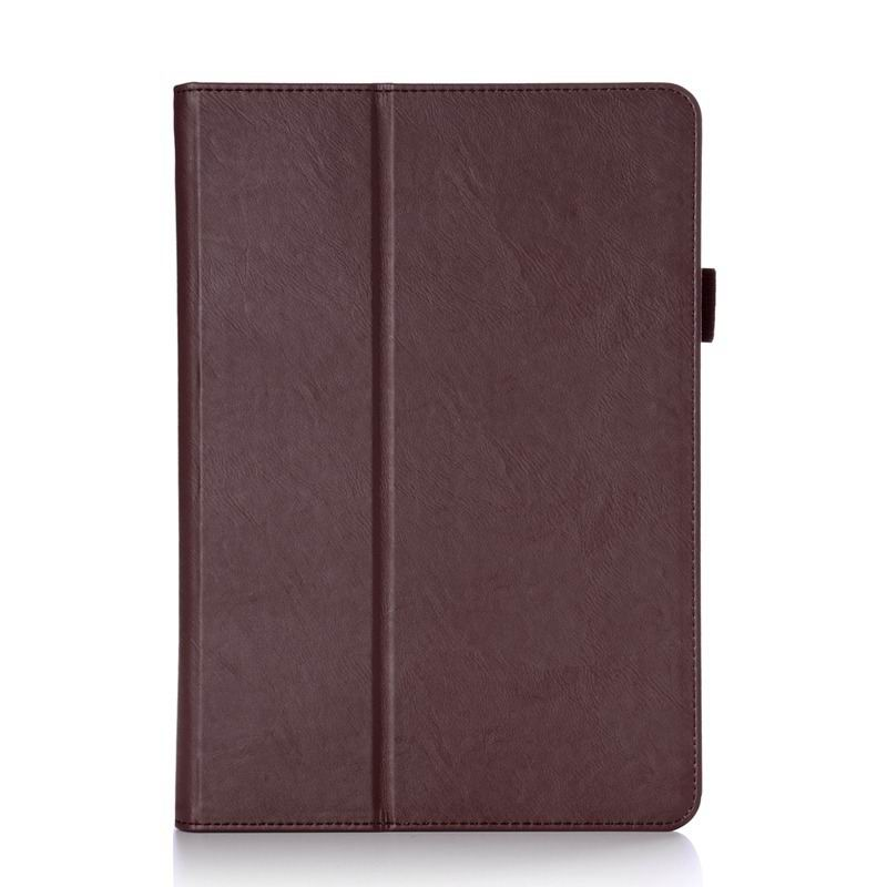 zenpad 3s business case multicolor pattern stand and wirst loop brown: