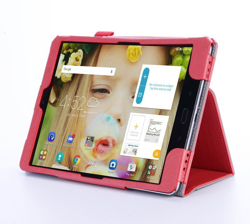 zenpad 3s business case multicolor pattern stand and wirst loop