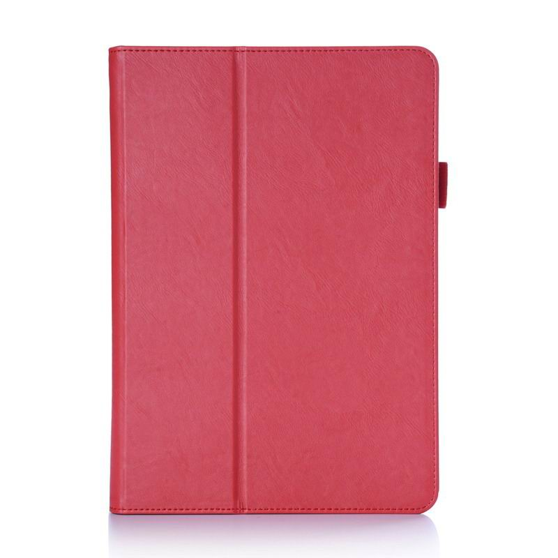 zenpad 3s business case multicolor pattern stand and wirst loop Red: