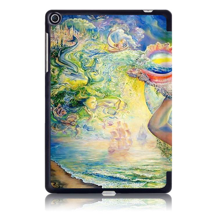 zenpad 3s business case with multi illustrations and stand Girl: