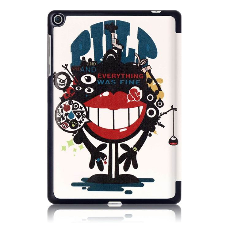 zenpad 3s business case with multi illustrations and stand Big mouth to blame: