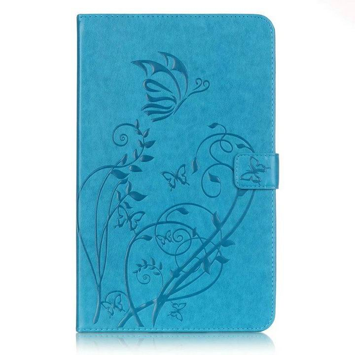 galaxy tab a 10 1 2016 business multicolor case with tree pattern Sky blue: