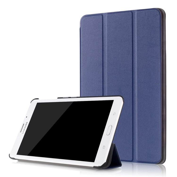 galaxy tab j business multicolor pattern case with stand Dark blue: