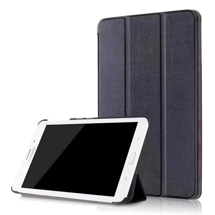 galaxy tab j business multicolor pattern case with stand Black: