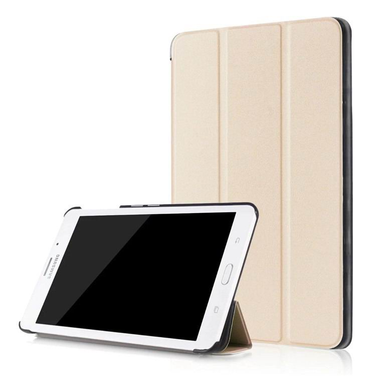 galaxy tab j business multicolor pattern case with stand Golden: